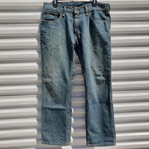 Levi's 559 relaxed straight fit jeans size 32x30